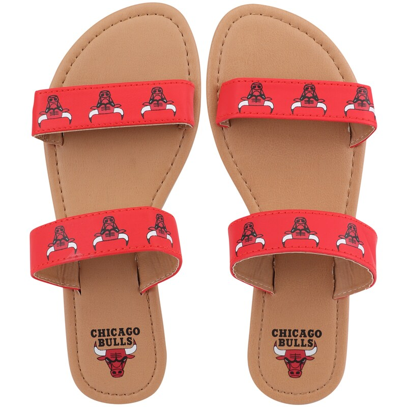 Chicago Bulls Women's Double-Strap Sandals