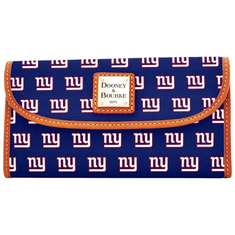 New York Giants Dooney & Bourke Women's Team Color Continental Clutch