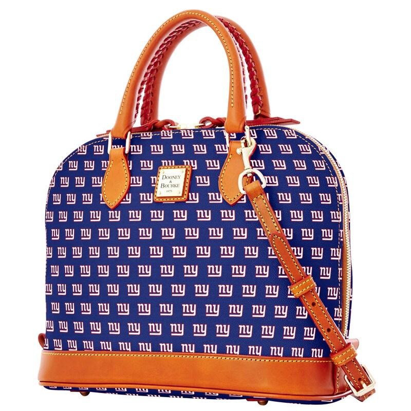 New York Giants Dooney & Bourke Women's Zip Zip Satchel - Royal