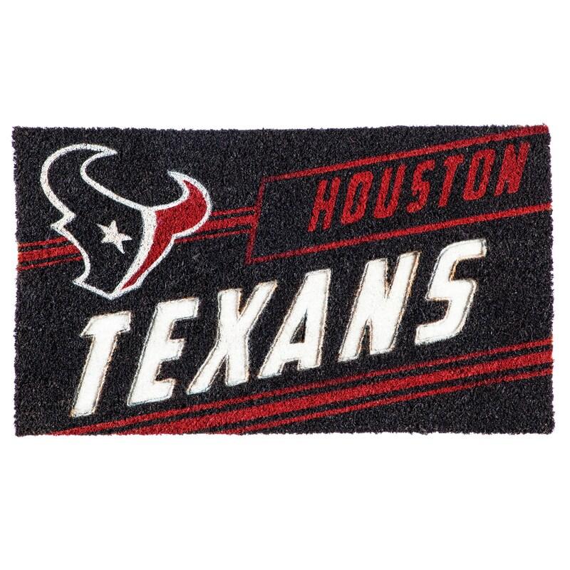 Houston Texans 16'' x 28'' Coir Punch Mat