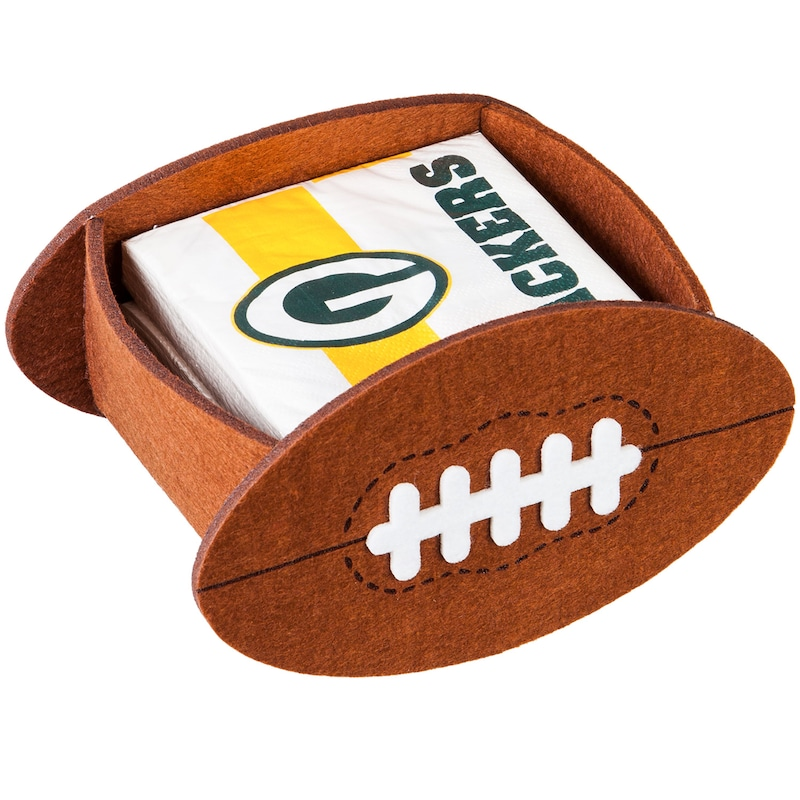 Green Bay Packers Napkin Felt Gift Set