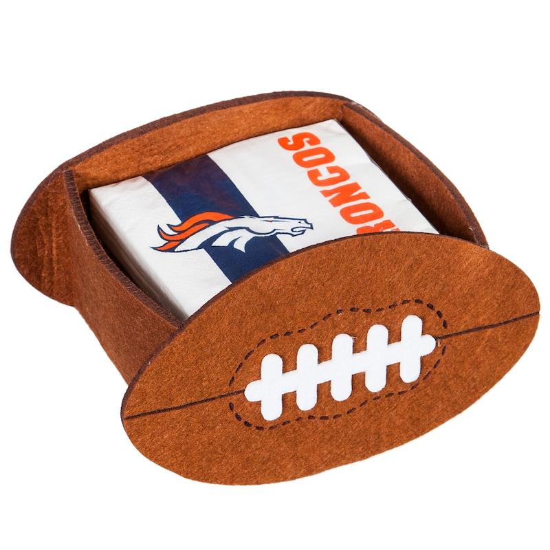 Denver Broncos Napkin Felt Gift Set