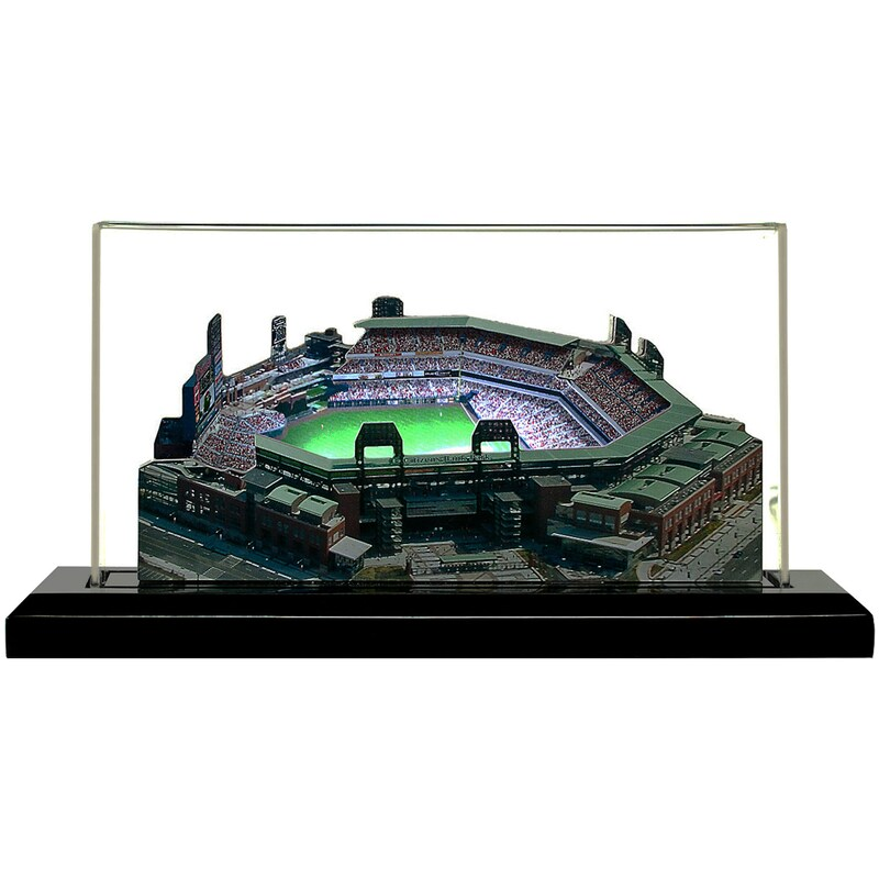 "Philadelphia Phillies 9"" x 4"" Citizens Bank Park Light Up Replica Ballpark"