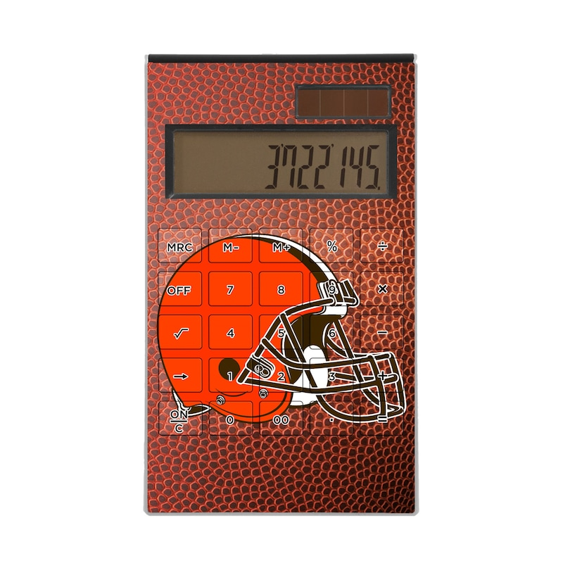 Cleveland Browns Football Design Desktop Calculator