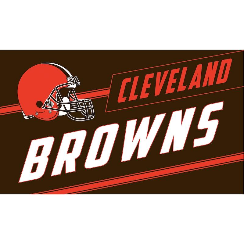 Cleveland Browns 16'' x 28'' Coir Punch Mat
