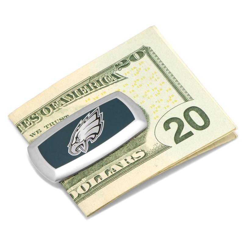 Philadelphia Eagles Cushion Money Clip