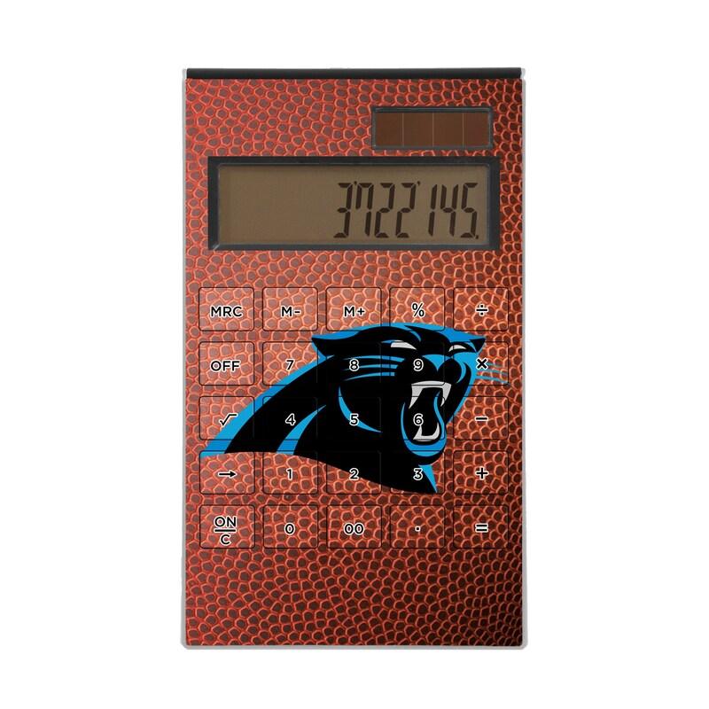 Carolina Panthers Football Design Desktop Calculator