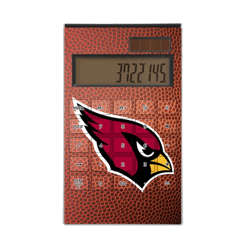 Arizona Cardinals Football Design Desktop Calculator