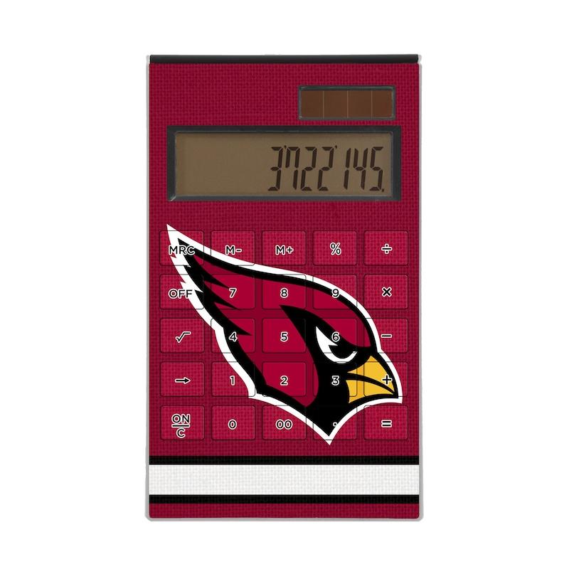 Arizona Cardinals Stripe Design Desktop Calculator