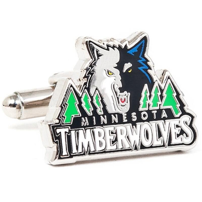 NBA Minnesota Timberwolves Cufflinks