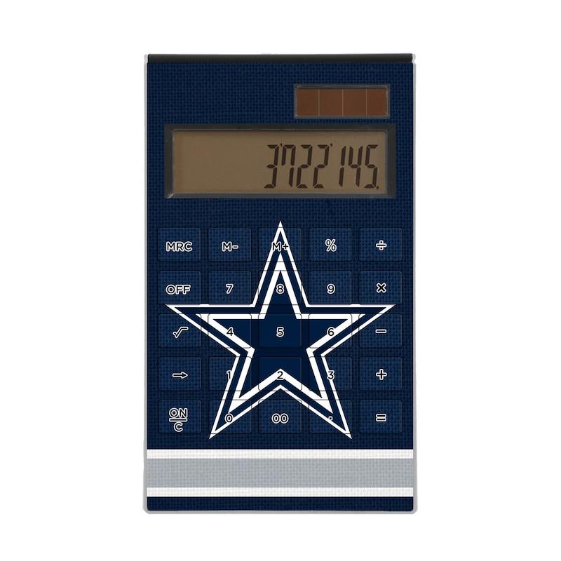 Dallas Cowboys Stripe Design Desktop Calculator