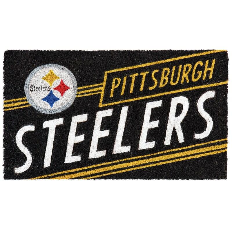 Pittsburgh Steelers 16'' x 28'' Coir Punch Mat