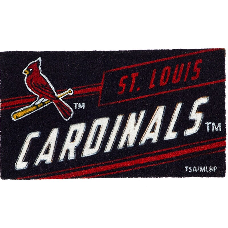 St. Louis Cardinals 16'' x 28'' Coir Punch Mat