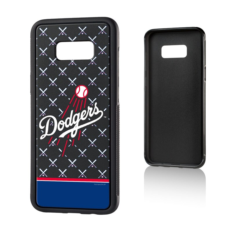 Los Angeles Dodgers Galaxy S8 Plus Stripe Logo Bump Case