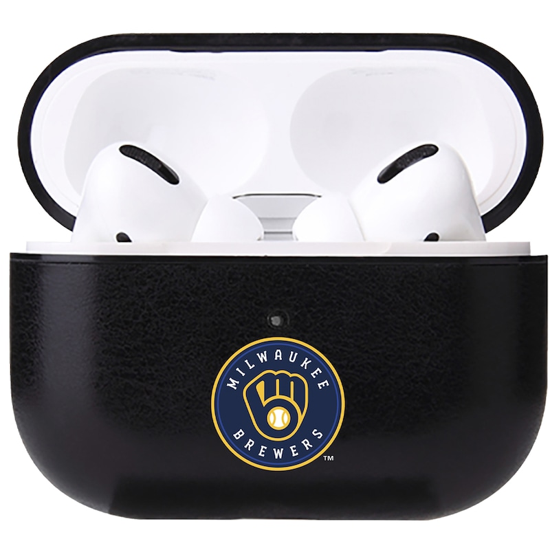 Milwaukee Brewers Air Pod Pro Primary Logo Leatherette Case