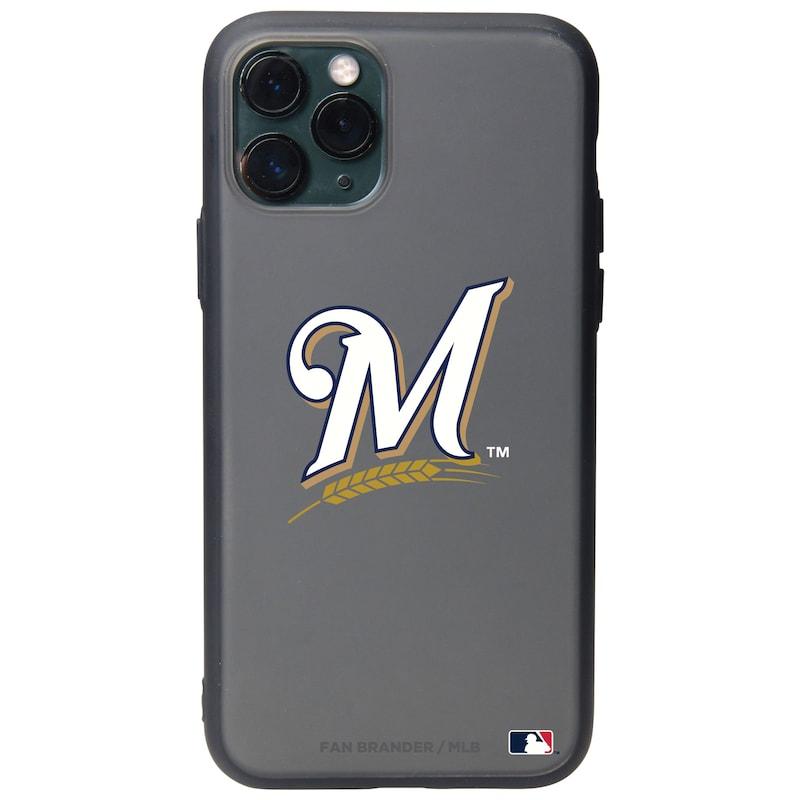 Milwaukee Brewers Black Slate Primary Mark iPhone Case