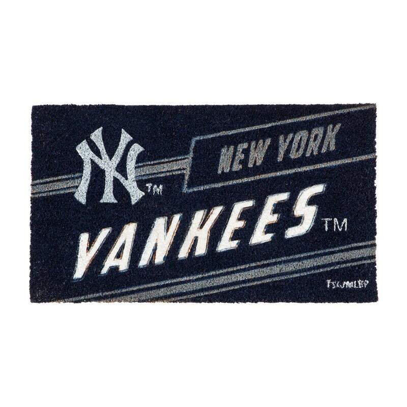 New York Yankees 16'' x 28'' Coir Punch Mat