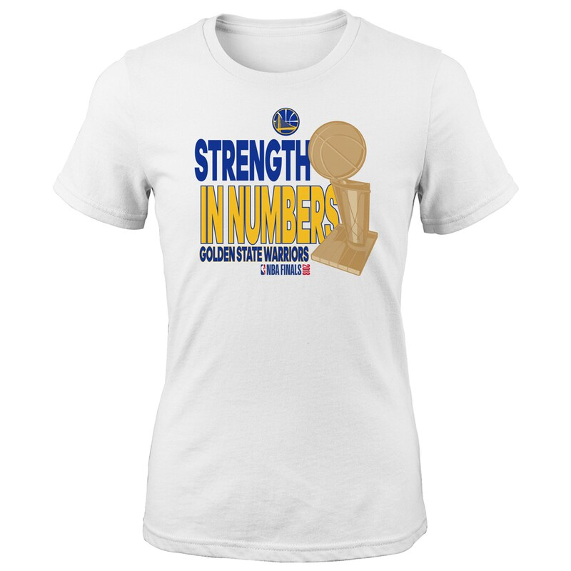Golden State Warriors Girls Youth 2018 NBA Finals Champions Parade T-Shirt - White