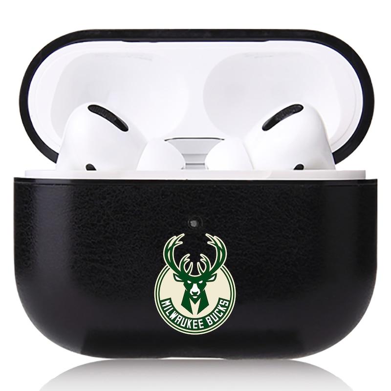 Milwaukee Bucks OtterBox Air Pods Leather Case - Black
