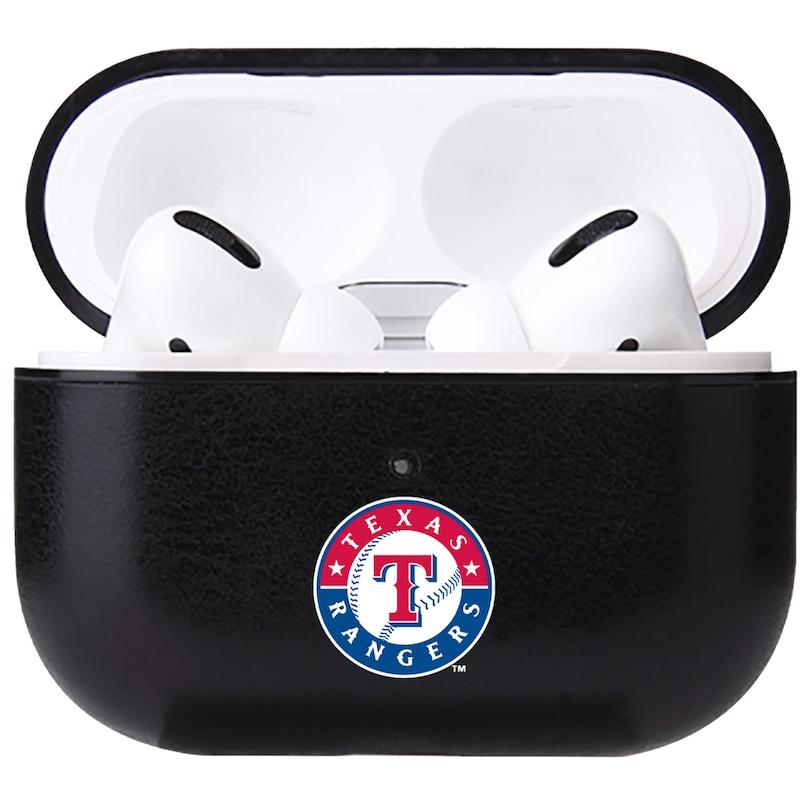Texas Rangers Air Pod Pro Primary Logo Leatherette Case