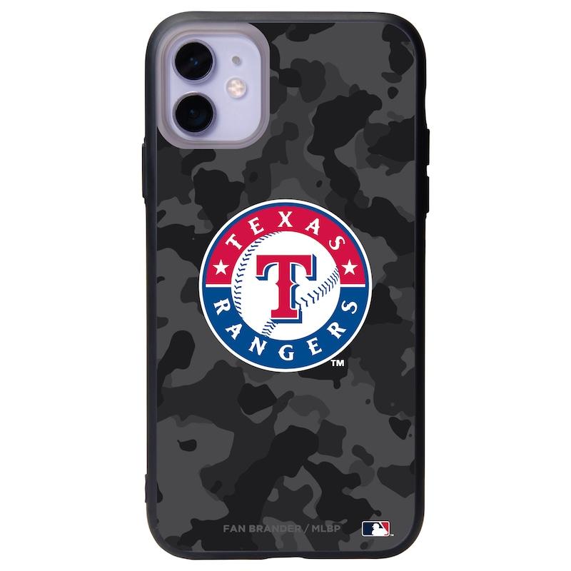 Texas Rangers Black Slate Urban Camo iPhone Case