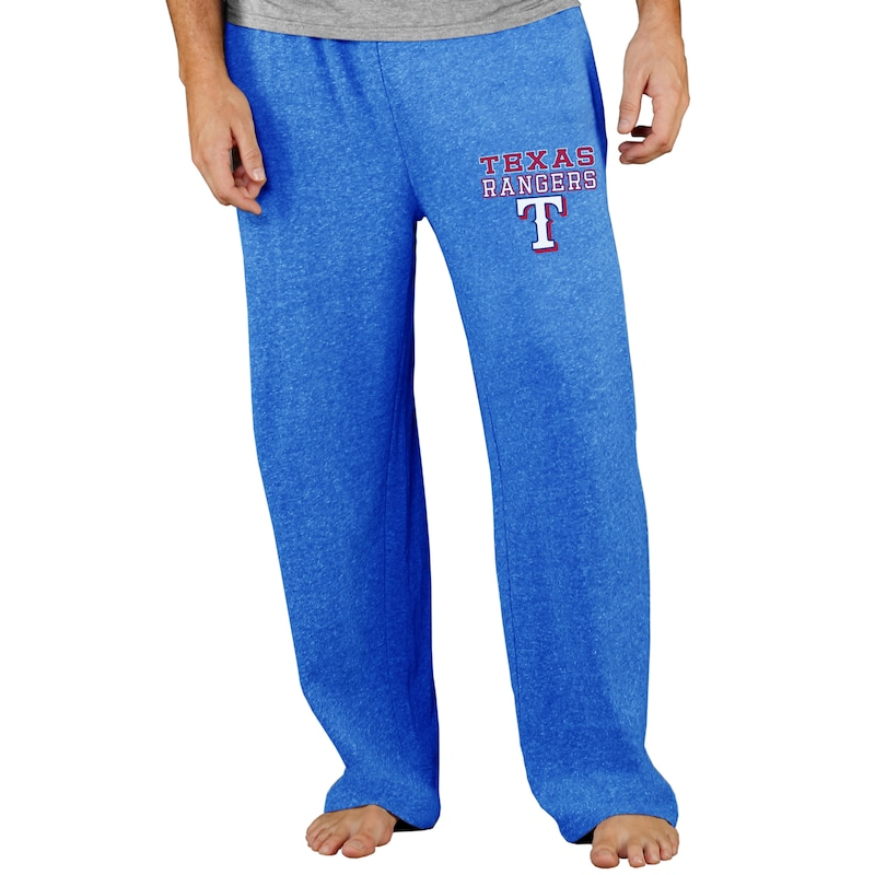 Texas Rangers Concepts Sport Team Mainstream Terry Pants - Royal