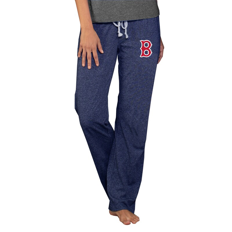 Boston Red Sox Concepts Sport Women's Cooperstown Quest Knit Pants - Navy