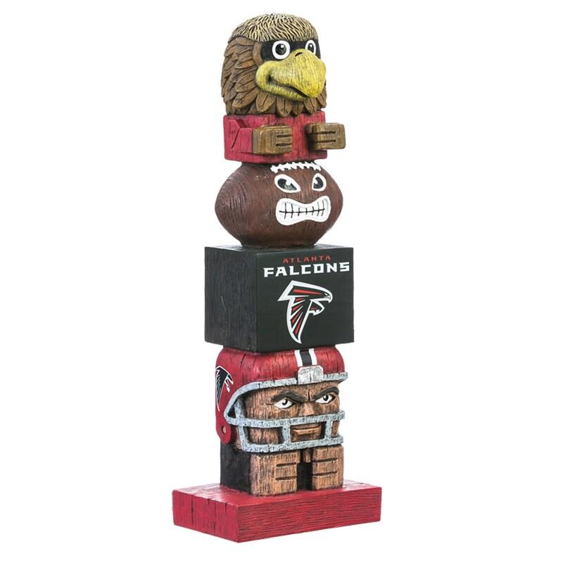 "Atlanta Falcons 16"" Team Tiki Totem"