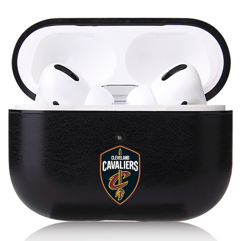 Cleveland Cavaliers OtterBox Air Pods Leather Case - Black
