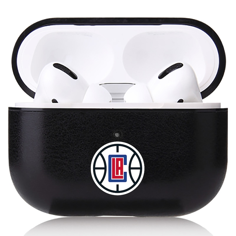 LA Clippers OtterBox Air Pods Leather Case - Black