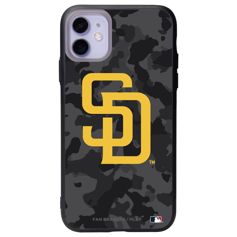 San Diego Padres Black Slate Urban Camo iPhone Case