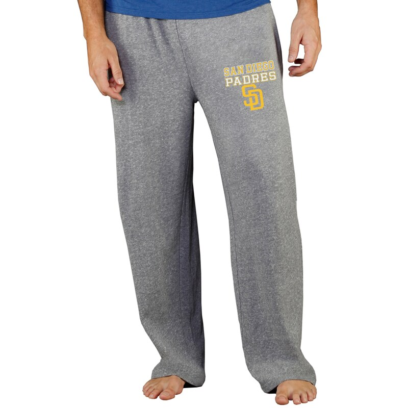 San Diego Padres Concepts Sport Team Mainstream Terry Pants - Gray