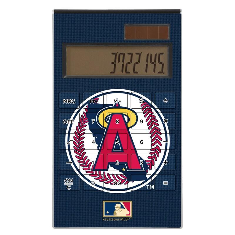 Los Angeles Angels 1986-1992 Cooperstown Solid Design Desktop Calculator
