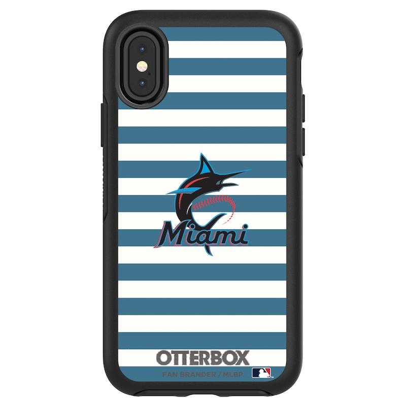 Miami Marlins OtterBox iPhone Symmetry Case