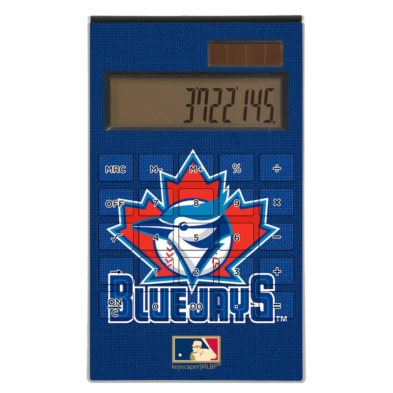 Toronto Blue Jays 1997-2002 Cooperstown Solid Design Desktop Calculator