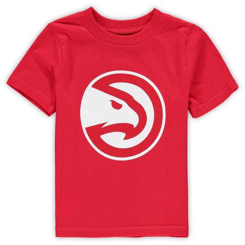 Atlanta Hawks Toddler Primary Logo T-Shirt - Red