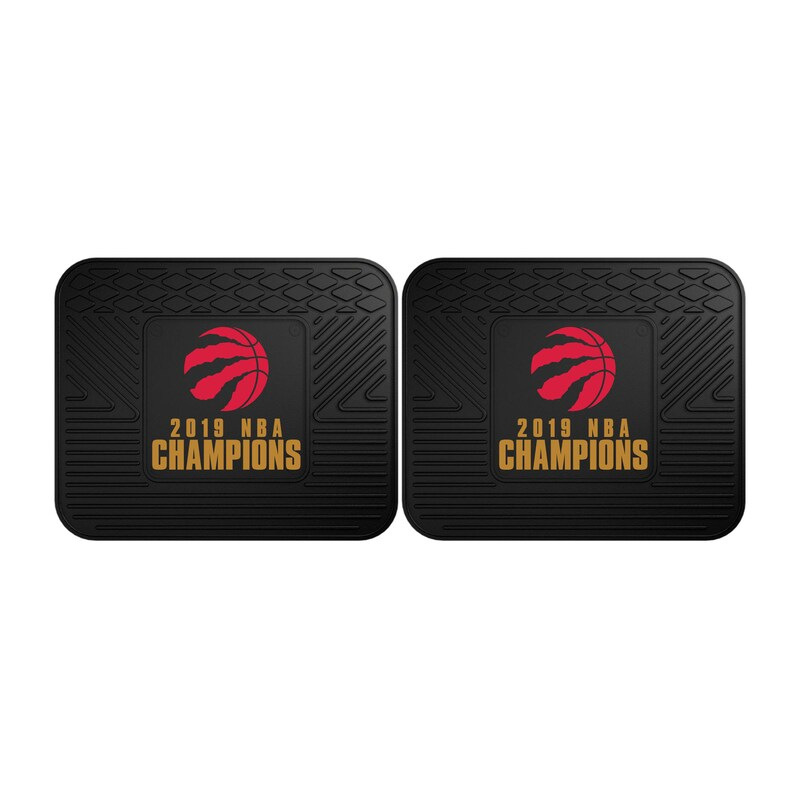 Toronto Raptors 2019 NBA Finals Champions Two-Piece Utility Car Mat Set