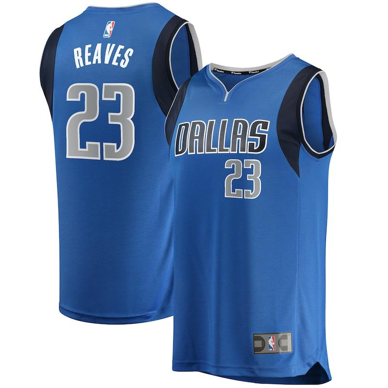 Josh Reaves Dallas Mavericks Fanatics Branded Youth Fast Break Replica Player Jersey - Icon Edition - Blue