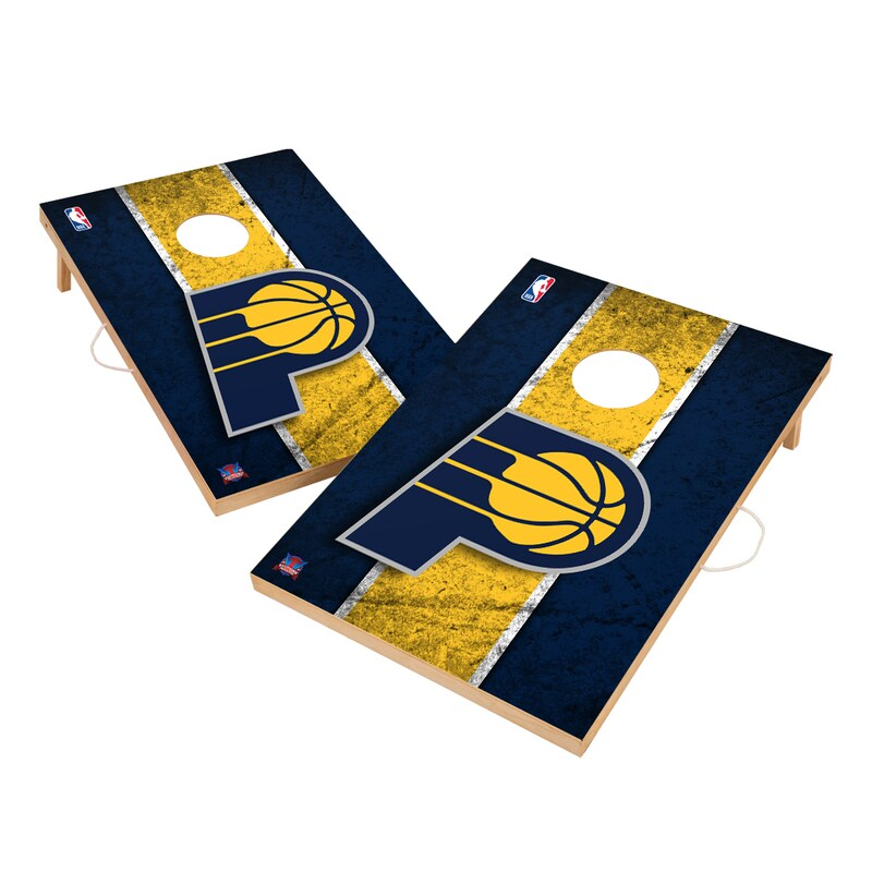Indiana Pacers 2' x 3' Solid Wood Cornhole Board Tailgate Toss Set