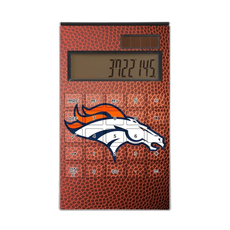 Denver Broncos Football Design Desktop Calculator