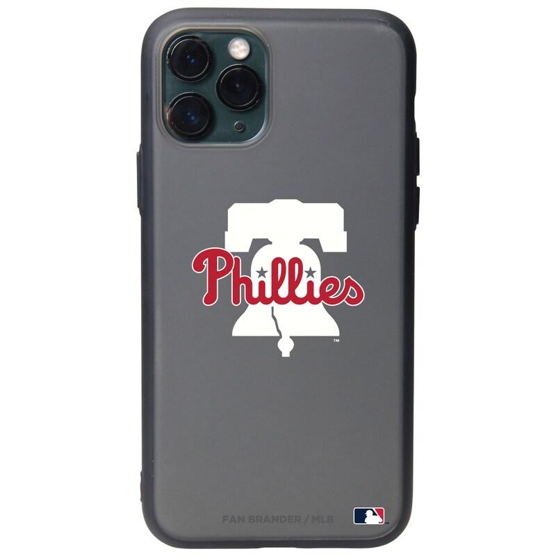 Philadelphia Phillies Black Slate Primary Mark iPhone Case