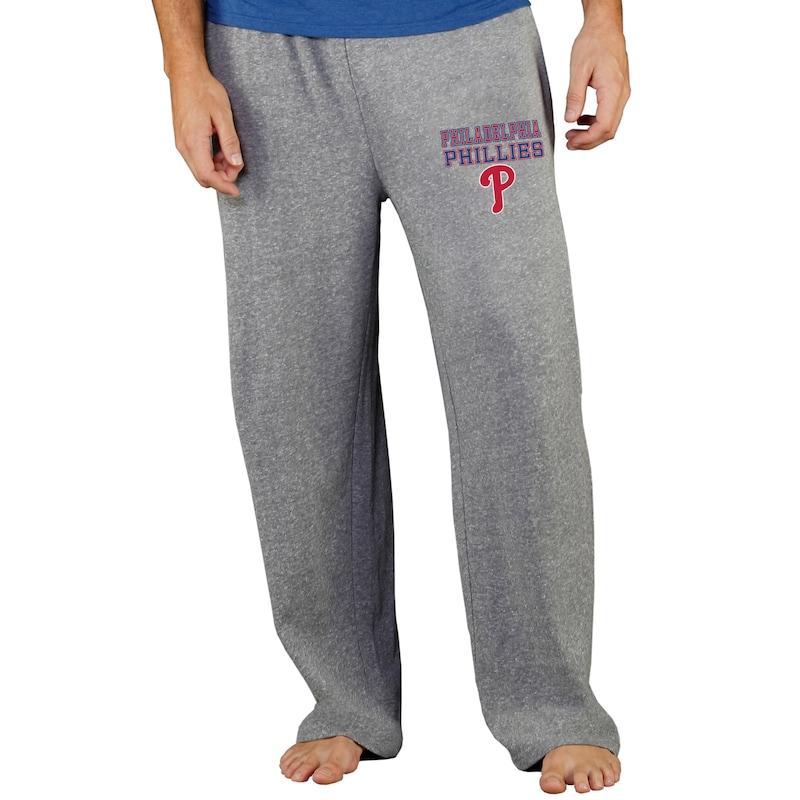 Philadelphia Phillies Concepts Sport Team Mainstream Terry Pants - Gray