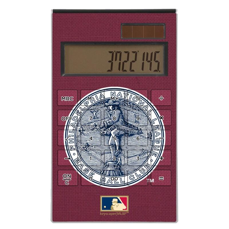 Philadelphia Phillies 1915-1943 Cooperstown Solid Design Desktop Calculator
