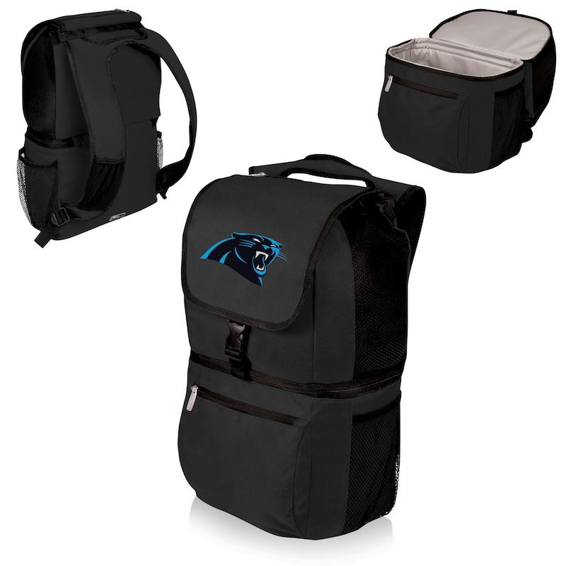 Carolina Panthers Zuma Cooler Backpack - Black