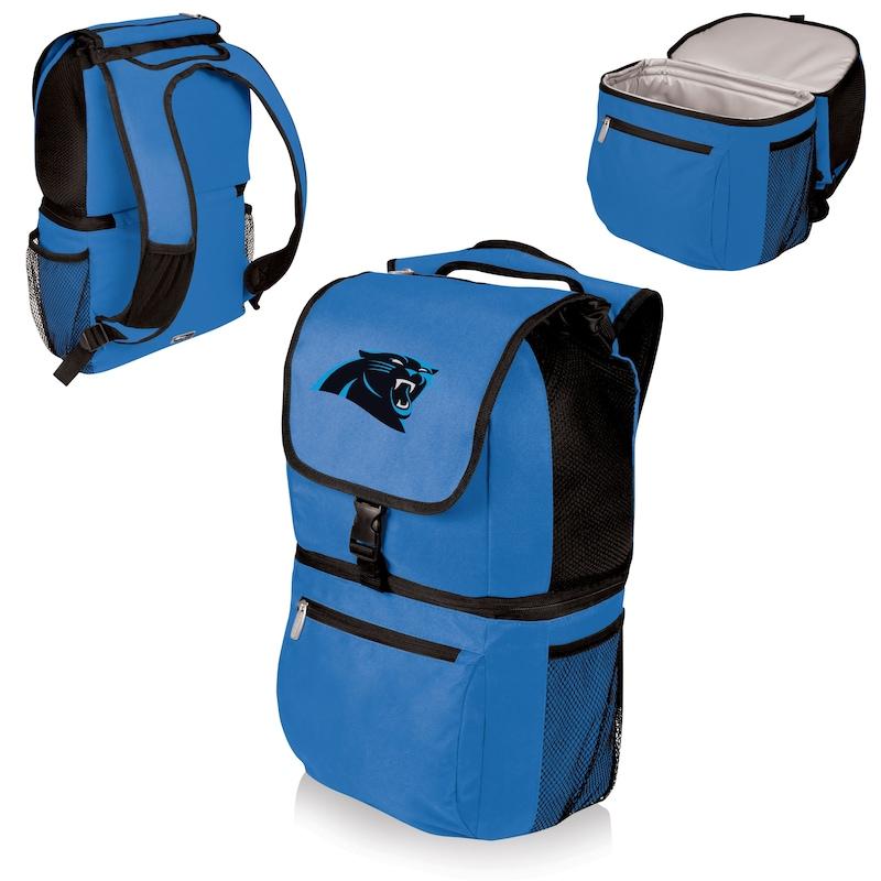 Carolina Panthers Zuma Cooler Backpack - Blue