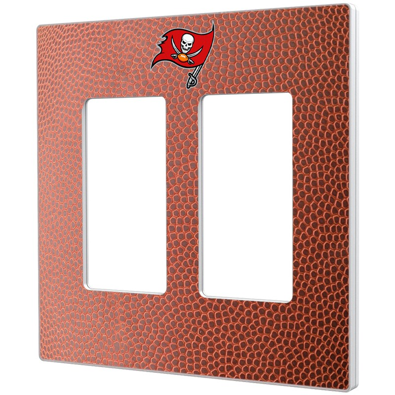 Tampa Bay Buccaneers Football Design Double Rocker Light Switch Plate
