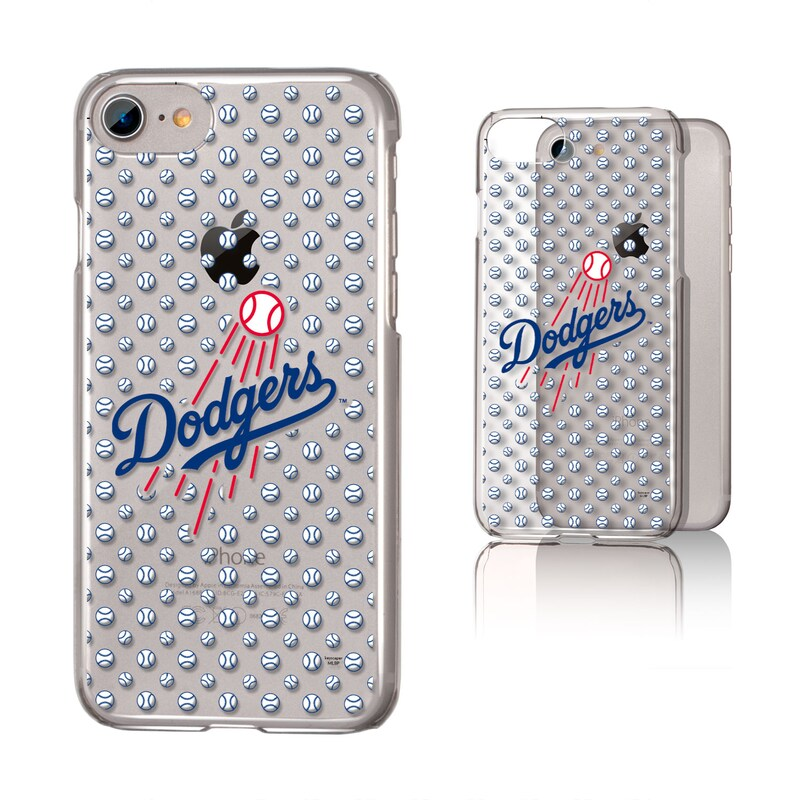 Los Angeles Dodgers iPhone 6/6s/7/8 Baseball Logo Clear Case