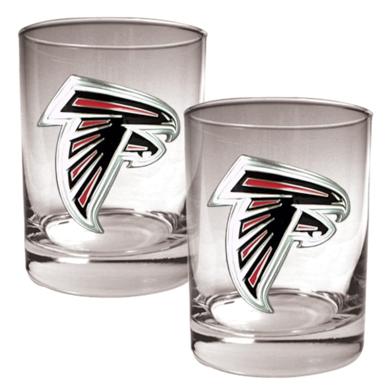 Atlanta Falcons 14oz. Rocks Glass Set