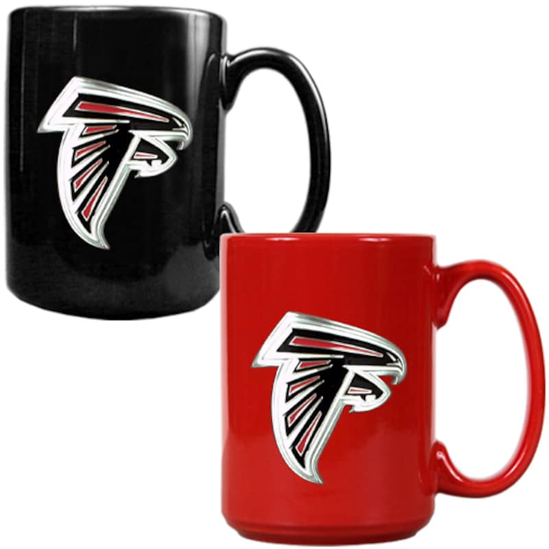 Atlanta Falcons 15oz. Coffee Mug Set