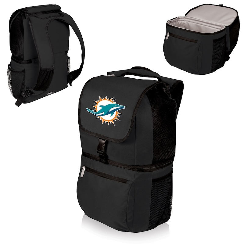 Miami Dolphins Zuma Cooler Backpack - Black